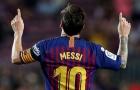 Messi đi vào lịch sử Barcelona, là người thứ 3 làm được 1 điều