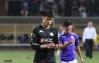 Thủ môn Bùi Tiến Dũng nói gì khi lần đầu tiên được bắt chính cho Hà Nội FC