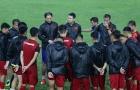 Rèn quân dưới mưa, U23 Việt Nam quyết tâm cho trận đấu với U23 Myanmar