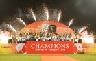 Hà Nội FC đăng quang ngôi vương đầy cảm xúc tại sân Cửa Ông