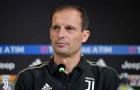 Allegri: 'Juventus chẳng thể tệ hơn được nữa