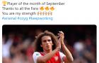 'Ông hoàng tháng 9' của Arsenal nói lời khiến fan tan chảy