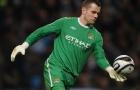 Huyền thoại Man Utd và 4 thủ môn nổi tiếng từng khoác áo Man City