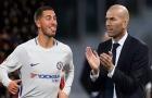 """Hazard: """"Giấc mơ của tôi là được làm việc cùng Zidane"""""""