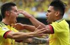 James Rodrigurez nói gì về bàn thắng đầu tiên của Falcao ở World Cup?