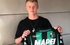 CHÍNH THỨC: Sassuolo kí hợp đồng với Odgaard
