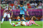 Xavi: 'Modric và Rakitic là những con quái vật đích thực với quả bóng'