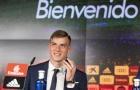 CHÍNH THỨC: Lunin rạng rỡ ra mắt Real Madrid