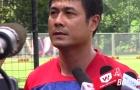 HLV Hữu Thắng nói về khó khăn của U22 Việt Nam tại SEA Games 29