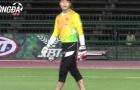 HLV Đức Chung xin người hâm mộ tha thứ cho thủ môn Phí Minh Long
