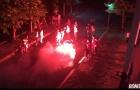 Thua tuyển futsal Ai Cập 1-4, CĐV Việt Nam đốt pháo sáng