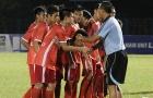 Cái bắt tay và dấu hiệu tích cực của bóng đá trẻ Việt Nam