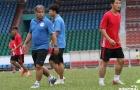 Tân binh V-League hào hứng trên sân tập cùng HLV từng làm việc ở Ligue 1