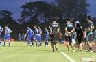 CLB Avispa Fukuoka xem giò thầy trò Hữu Thắng trên sân Cần Thơ