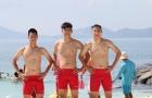 'Hot boy' U20 Việt Nam 'thả thính' khoe body ở Resort 5 sao