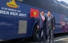 Có mặt tại Cheonan (Hàn Quốc), U20 Việt Nam sẵn sàng đấu New Zealand