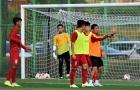 HLV Hoàng Anh Tuấn tiếp tục uốn nắn học trò trên đất Cheonan - Hàn Quốc