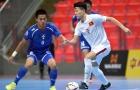 U20 Futsal Việt Nam thắng ngược khó tin Đài Bắc Trung Hoa