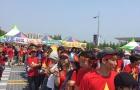 CĐV Việt Nam biến sân Jeonju thành 'chảo lửa' Mỹ Đình