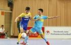 Vòng 15 giải futsal VĐQG 2017: Khánh Hòa thắng kịch tính, Thái Sơn Bắc chia điểm khó tin