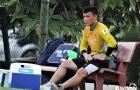 Thêm một thủ môn U22 Việt Nam gặp chấn thương
