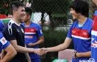 Đàn anh Công Vinh bất ngờ thăm hỏi U22 Việt Nam trước màn so găng Hàn Quốc