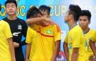 VCK U15 Quốc gia Thái Sơn Bắc: Cầu thủ SLNA khóc nức nở nhìn Viettel vào bán kết