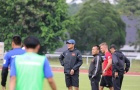 Thầy trò Hữu Thắng chính thức 'đạp cỏ' trên đất Malaysia, chinh phục HCV SEA Games 29