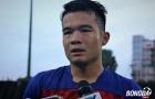 """Ngô Hoàng Thịnh: """"Messi Campuchia"""" không đáng lo ngại bằng mặt sân Olympic"""