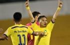 """""""Ronaldo xứ Nghệ"""" tỏa sáng, SLNA có 3 điểm tại thành Vinh"""