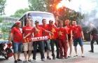 ĐT Việt Nam - Campuchia: CĐV Hải Phòng lại mang 'báu vật' đến Mỹ Đình