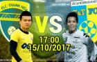 Vòng 21 V-League 2017: Đại chiến ở xứ Thanh