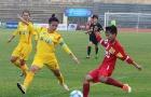 Vòng 10 giải VĐQG NỮ 2017: ĐKVĐ TP.HCM thắng khó nhọc Hà Nội II