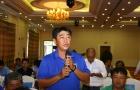 HLV Trần Minh Chiến dẫn dắt Bình Dương V-League 2018