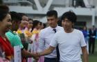 Chùm ảnh: Công Vinh - Miura 'đỏ mắt' tuyển quân ở sân chơi sinh viên