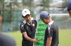 HLV Miura có chiến thắng đầu tiên khi 'chung nhà' với Công Vinh