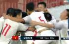 Cưa điểm với Hàn Quốc, U19 Việt Nam ngẩng cao đầu rời giải