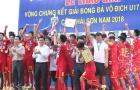 Chùm ảnh U17 Viettel rạng rở đăng quang ngôi vô địch
