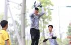 Tiến Dũng so găng cùng Lâm 'tây' trong khung gỗ U23 Việt Nam