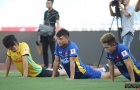 Hồng Duy - Xuân Mạnh nỗ lực tìm suất tham dự ASIAD Cup 2018