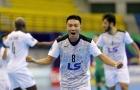 Giải futsal châu Á 2018: Thái Sơn Nam hủy diệt CLB Hàn Quốc với tỉ số không tưởng