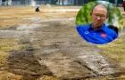 U23 Việt Nam 'luyện công' trên mặt sân ruộng, chờ vinh quang ASIAD 2018