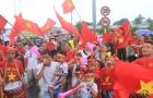 Fan Hà thành nô nức chào đón U23 Việt Nam