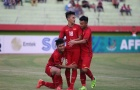 Video Nhâm Mạnh Dũng đánh đầu đẳng cấp xé lưới U19 Jordan