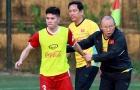 ĐT Việt Nam tập huấn tại Hàn Quốc: Cầu thủ đầu tiên dính chấn thương