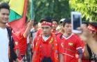 CĐV Myanmar cuồng nhiệt như thế nào trước trận gặp Việt Nam