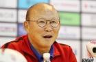HLV Park Hang-seo tươi cười khi bị hỏi xoáy, đáp xoay