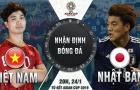 Trực tiếp ĐT Việt Nam 0-0 ĐT Nhật Bản: Công Phượng, Quang Hải đá chính, Xuân Trường dự bị