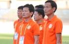 """Trắng tay trên sân Thanh Hóa, HLV Nam Định """"tố"""" trọng tài cướp bàn thắng"""