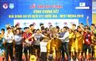 Thầy trò Mai Xuân Hợp vỡ òa cảm xúc khi lên ngôi vô địch U17 Quốc gia 2019